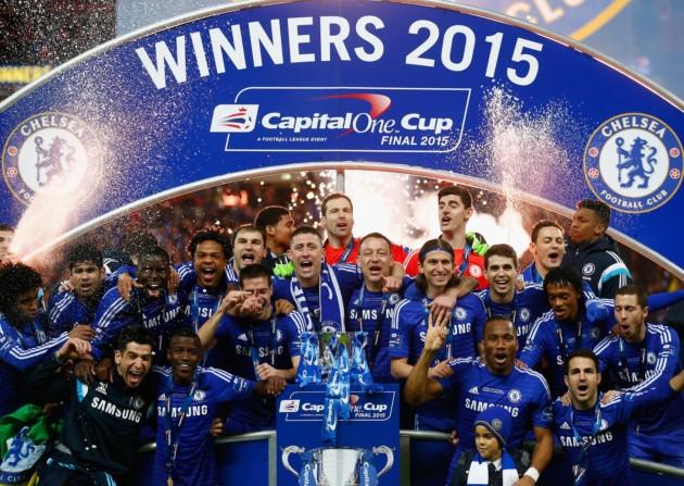 球會最近一次奪得聯賽盃是在2015年