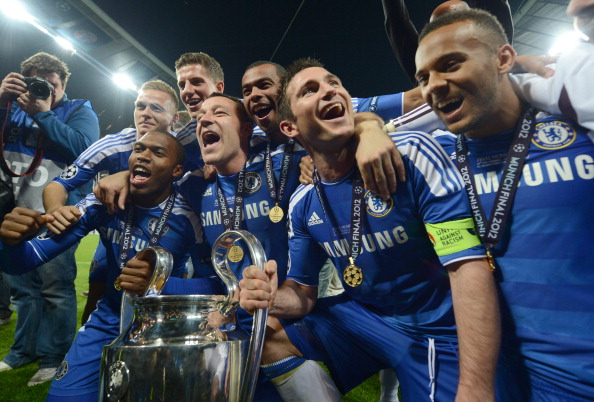 球會曾於 2012 年贏取歐冠盃