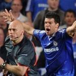 2009 年球證奧維保連番誤判令車路士失落歐冠盃決賽席位