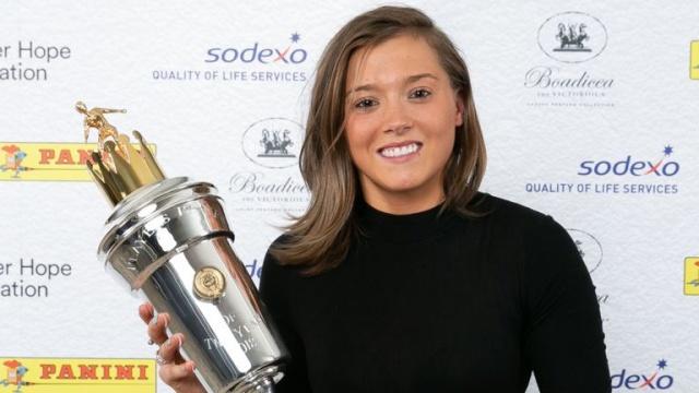 24 歲車路士前鋒卻比榮獲今季英格蘭最佳女子球員獎項