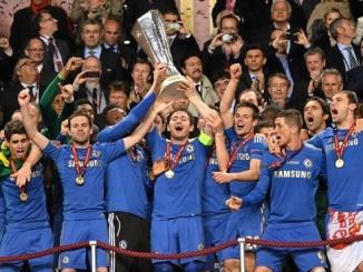車路士曾於 2013 年奪得歐霸盃冠軍