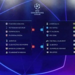 2019-20 歐冠盃抽籤結果